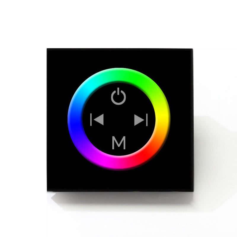 Controlador RGB táctil empotrable